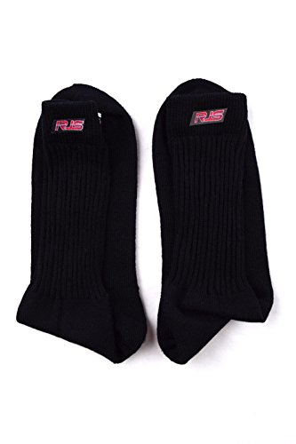 RJS RACING RACING SOCKS SFI 3.3 APPROVED BLACK UNDERWEAR SOCKS NOMEX MEDIUM Nomex Socks