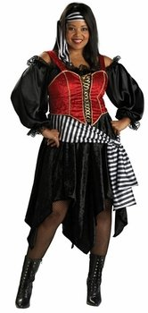 Pirate Lady Costume - Plus Size 2X - Dress Size 20-22