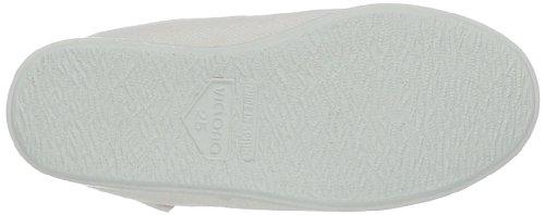 Victoria Gimnasia Panama - Zapatillas de Deporte de tela Infantil Blanco - Blanc (Blanco)