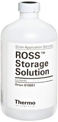 (Thermo Scientific Orion Ross pH Electrode Storage Solution, 475 ml Bottle)