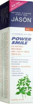 (JASON Powersmile Whitening Fluoride-Free Toothpaste, Powerful Peppermint, 6 Ounce)