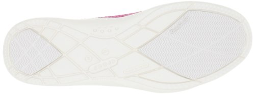 Crocs Mujeres Walu Canvas Loafer Frambuesa / Ostra