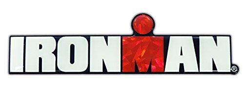 (Ironman Triathlon 3d Reflective Decal Sticker)