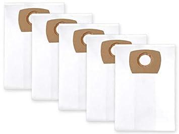 5x bolsas para aspirador tejido NILFISK AERO 31-21 PC INOX ...