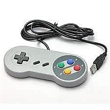 New Top Quality USB Plug Classic Gaming Controller Pad For Nintendo NES Windows PC Mac OS X 64 bit Gaming Controller Joystick For Nintendo NES (Now with 4 ft cord and Ergonomic, Rounded Corners)