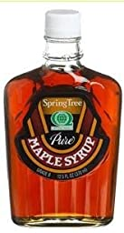 Spring Tree 100% Pure All Natural Maple Syrup 12.5fl.oz. (1 Glass Bottle)