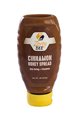 Zesty Bee Cinnamon Honey Spread, 16 Ounce ()