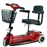 Zipr 3 Leisure Travel Mobility Scooter - Red