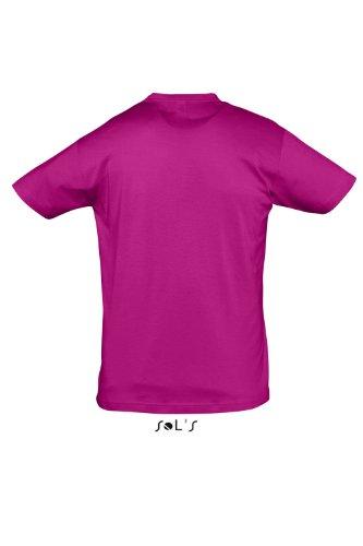 Sols - Regent - Unisex Rundhals T-Shirt , Fuchsia , M