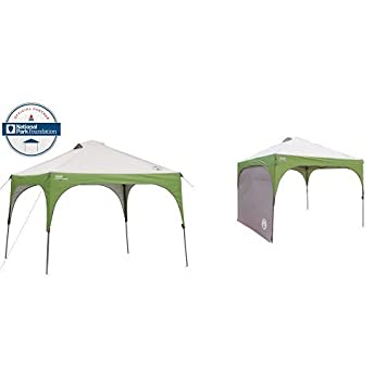 Coleman 10u0027 X 10u0027 Instant Canopy and Coleman Instant Canopy Sunwall - Accessory Only  sc 1 st  Amazon.com & Amazon.com : Coleman 10u0027 X 10u0027 Instant Canopy and Coleman Instant ...