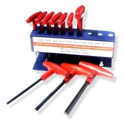 10 Pc T-handle Allen Wrenches- SAE