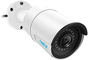 Reolink 5MP PoE Camera Outdoor/Indoor IP Security Video Surveillance Work with Google Assistant, IR Night Vision Motion...