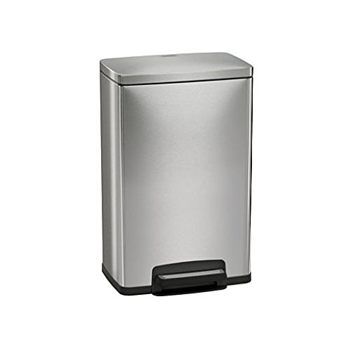 Tramontina 13 Gallon Step Trash Can Stainless Steel Includes 2 Freshener Cartridges (Tramontina Step Trash Can compare prices)