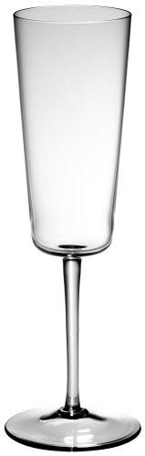 - Venini 'Excelsior' 8.75-Inch Titanium Champagne Glasses, Set of 6