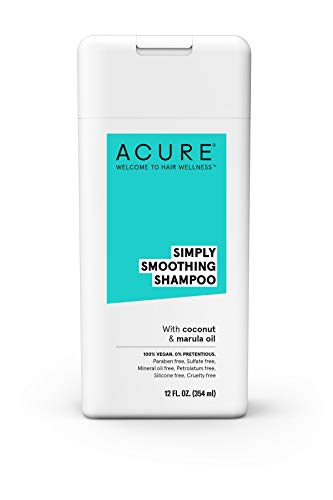 ACURE Simply Smoothing Shampoo, Coconut, 12 Fl. Oz. (Packaging May Vary) (Simply Coconut Oil)