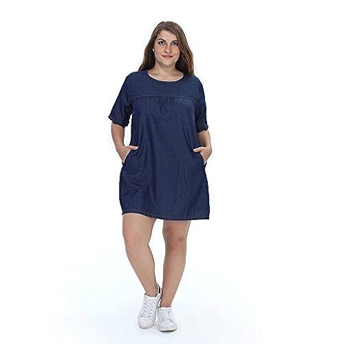Jean Dress Plus Size Amazon