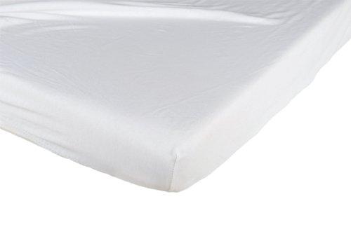Candide 693570.0 Spannbetttücher, Baumwolle, 40 x 80 cm, weiß