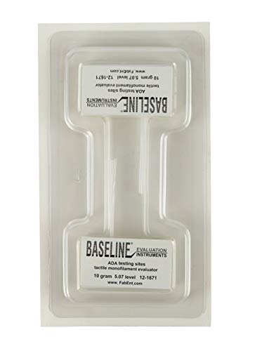 (Baseline Tactile Monofilament - ADA Program - Disposable - 5.07-10 Gram - 40-Pack 12-1671-40)