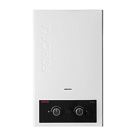 Calentador de agua a gas 10 litros Forcali GAS NATURAL: Amazon.es: Bricolaje y herramientas