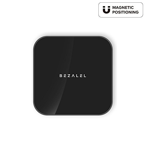 BEZALEL 2017 Prelude [MAGNET] Qi Portable Wireless Charger PowerBank Battery Pack for Latitude iPhone 7 / iPhone 6 Wireless Charging Case - - Case Magnet Pack