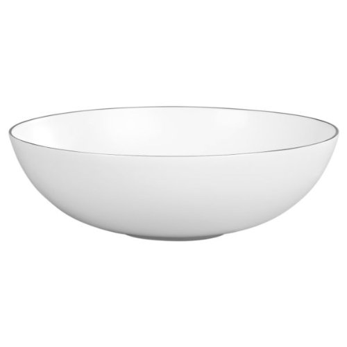 (Platinum Fine Bone China Serving Bowl)