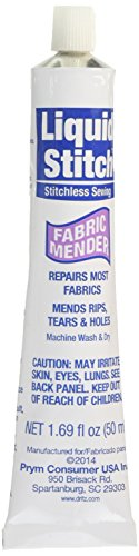 Dritz 394 Fabric Mender Liquid Stitch, 1.69-Fluid Ounce