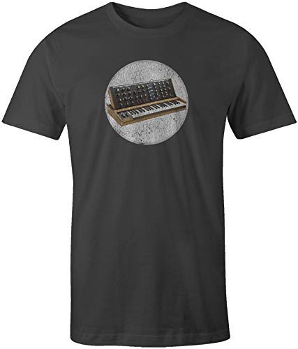 A Mini Moog Synthesizer Short Sleeve T-Shirt Vintage ()