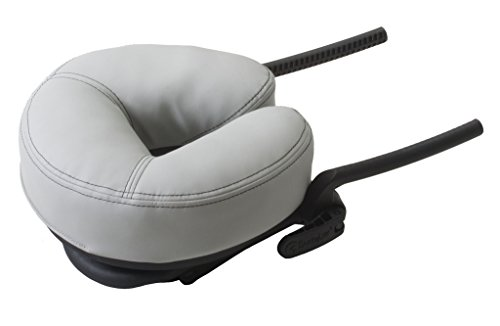 EARTHLITE Massage Table Face Cradle CARESS - Self-Adjusting, Innovative Massage Platform with Luxurious Strata Face Pillow (NEW MODEL) (Best Face Cradle For Massage Table)