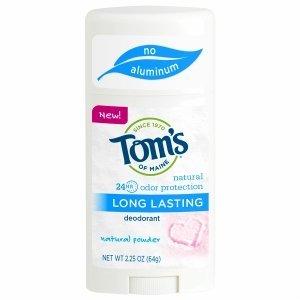 Tom's of Maine Natural Long Lasting Natural Deodorant, Natur