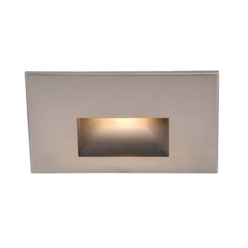WAC Lighting WL-LED100-C-BN LED Step Light Rectangular Scoop by WAC Lighting