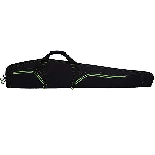 Waxaya Soft Shotgun Gun Case Rifle Cases Storage Bag for Scoped Rifles (Black, 48inch)