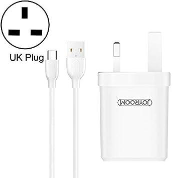 Cables, L-M226 2.4A Puertos USB duales Cargador de Viaje con ...