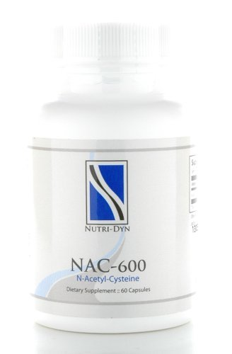 NAC-600 MG, Antioxidant, 60 Caps, by Nutri-Dyn by - Nac 600 Mg 60 Caps
