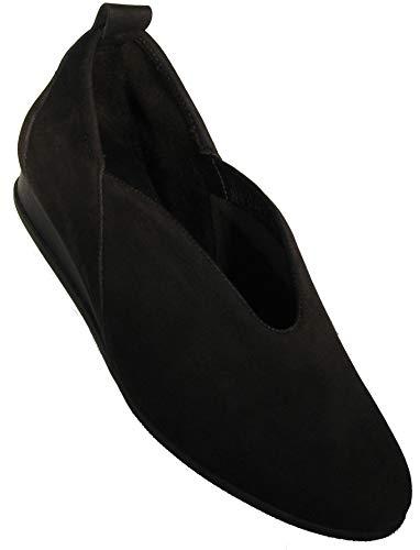 Arche Women's 'Piassy' Black Nubuck Slipon (39 M EU)