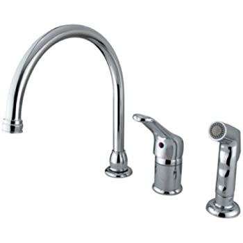 Kingston Brass Kb811 Widespread Kitchen Faucet With