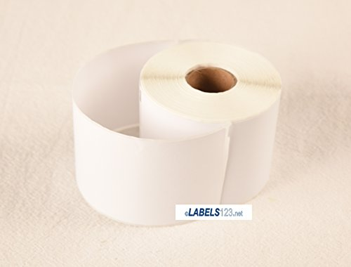 Labels White Blank 25 Rolls of 99019 Address Mailing Name Tag - Dymo Turbo 450 Duo 400 Compatible Printers by Labels123