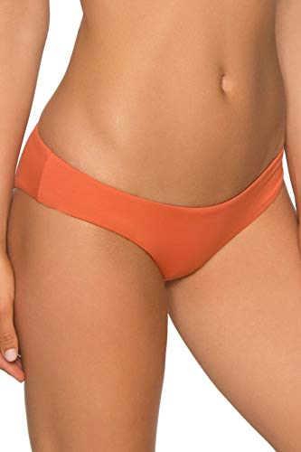 Aerin Swimwear Rose - Aerin Rose Orange Laterite Zuel Bottom, Orange Laterite, Small