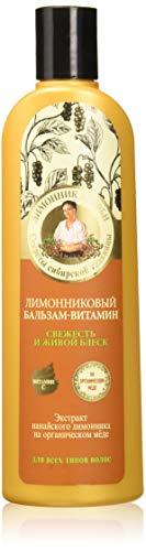 Grandma Agafia's Recipes Lemongrass Conditioner Natural Shine Hair 280ml