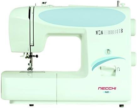 Necchi N81 - Máquina de Coser (Máquina de Coser Manual, Blanco ...