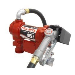 115v Manual - FILFR610G Tuthill Transfer 115 Volt Heavy Duty Pump with Hose and Manual Nozzle
