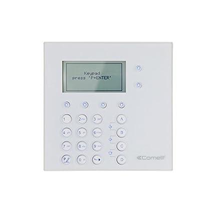 Comelit - Teclado inalámbrico 30006004c para paneles de ...
