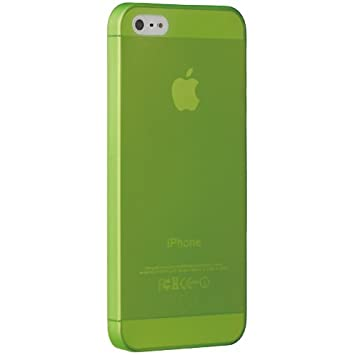 Ozaki Jelly - Carcasa para Apple iPhone 5, verde