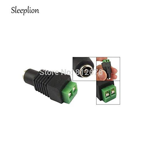 (Jammas Sleeplion Wholesale 5.5mm x 2.1mm DC Power Cable Female Connector Plug for CCTV Camera,50 PCS - (Standard: Other))