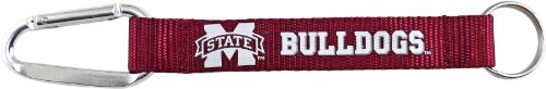 NCAA Mississippi State Bulldogs Carabiner Lanyard Keychain