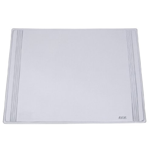 "Artistic 17"" x 22"" Euro  Pad Desk Pad and Organizer, Clear"