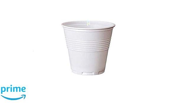 Palucart - 1000 vasos de plástico blanco, 80 cc, para café de bar, cafetera, etc.: Amazon.es: Hogar