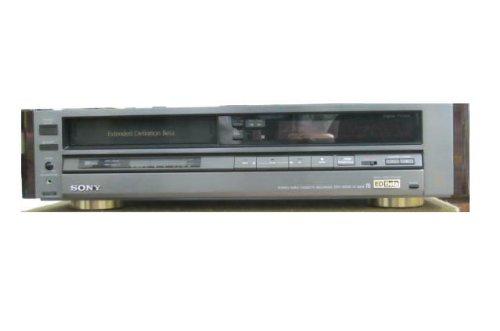 SONY EDベータビデオデッキ ソニー EDV-6000 リモコン取説付き シリアルNo.802799  22122 B00DK4DCXU