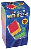 Fujifilm Media 25367250 Empty Color Slim Jewel Cases - 50 Pack (Discontinued by Manufacturer)