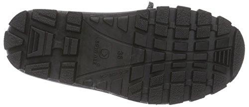 Spirale Falk - botas de nieve cn forro y caña corta de material sintético Unisex adulto azul - Blau (blau 23)