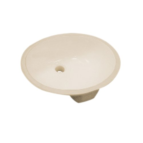 (Pegasus 14-006-BIHD 17-Inch Vitreous China Oval Undermount Sink, Biscuit )